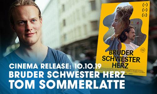 """Tom Sommerlatte, unser ehemaliger Schüler, bringt seinen zweiten Spielfilm """"Bruder Schwester Herz"""" in die Kinosmit dem """"Prädikat wertvoll"""""""