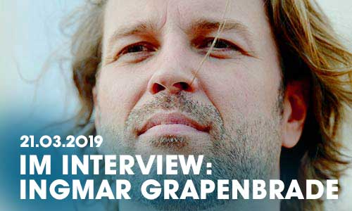 """Ingmar Grapenbrade hier im NDR in der Sendung """"DAS"""" im Portrait über seine """"Begeisterung für den Beruf des Schauspielers""""."""