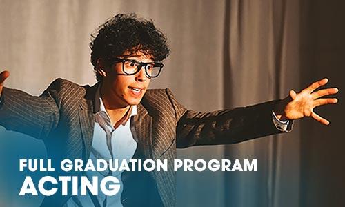 Full Graduation Program acting Artrium School for the Dramatic Arts