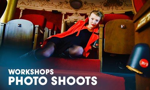 Full Graduation Program workshop photo shoots Artrium School for the Dramatic Arts