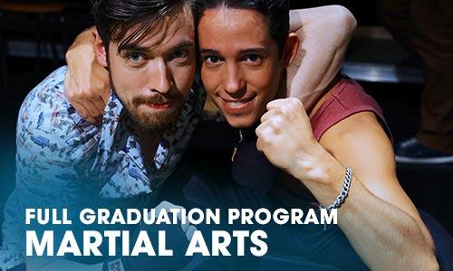 Full Graduation Program martial arts Artrium School for the Dramatic Arts