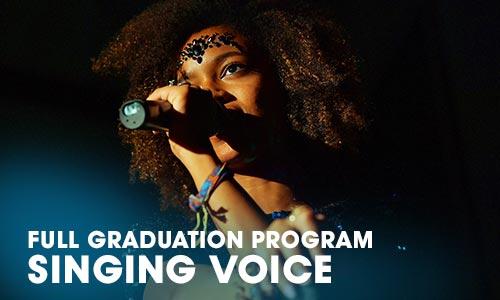 Full Graduation Program Singing voice Artrium School for the Dramatic Arts