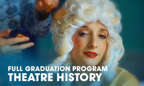 Full Graduation Program theatre history Artrium School for the Dramatic Arts